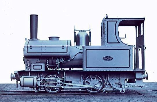 A 914mm gauge 0-4-0T loco built by Beyer Peacock for the Mount Bischoff Tin Mining Company in Tasmania in 1880