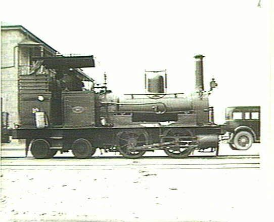An SAR V Class well-tank built by James Martin & Co of Gawler, Southj Australia