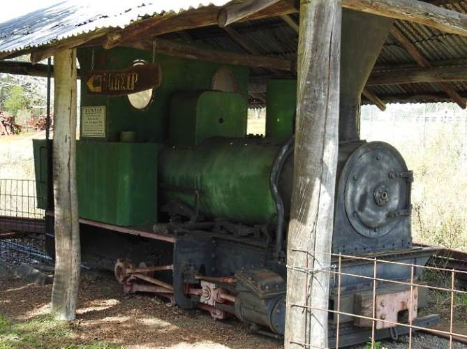 Known only as Bunyip - no one is quite sure where this loco was built