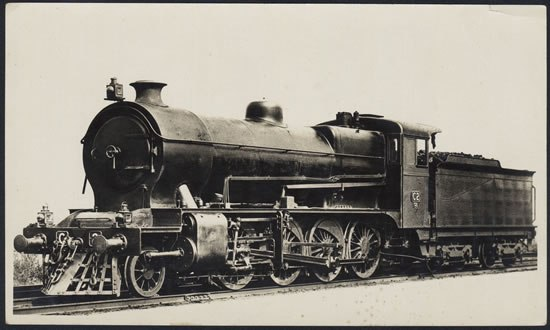 VR C Class 2-8-0 freight loco built at VR's Newport Workshops