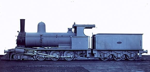 In 1884 the Tasmanian Government Railways placed an order with Beyer Peacock for just 1 locomotive - and this was it