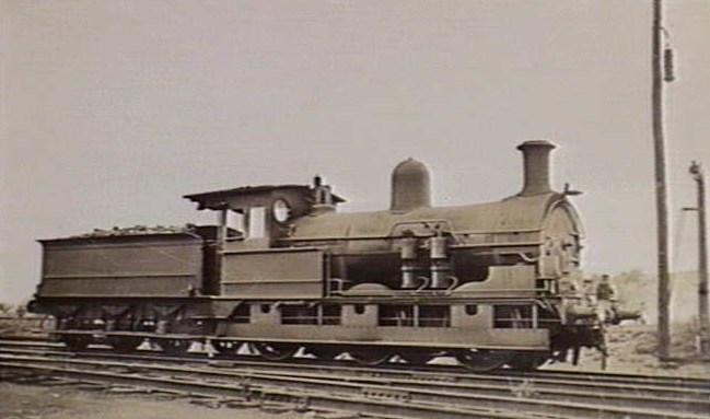 VR Y Class 0-6-0 built by the Phoenix Foundary of Ballarat, Vic, Australia