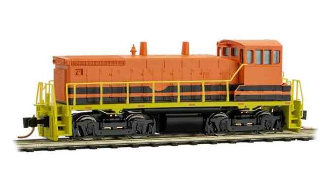 Genesee and Wyoming SW1500 in N Scale from MTL