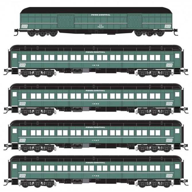 Penn Central heavyweights in N Scale from MTL