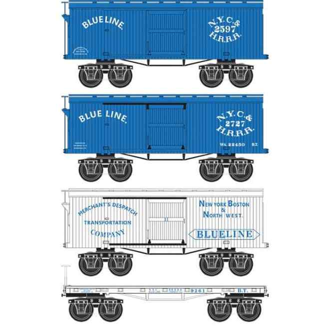 Civil War freight cars in N Scale from MTL