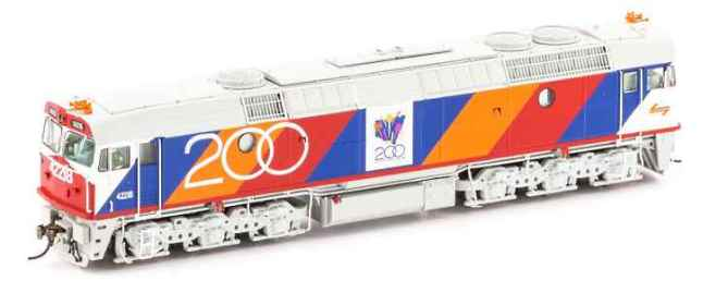 New and old liveries for Auscision's NSWR's 422 Class diesel locomotive