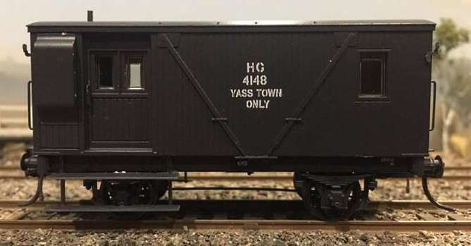 One of the many variants of the NSWGR HG Guard's Van to be released by Casula Hobbies