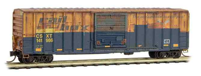 N Scale weathered boxcar from MTL