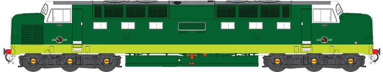 O Scale 55 Class British diesel coming in 2019 from Heljan