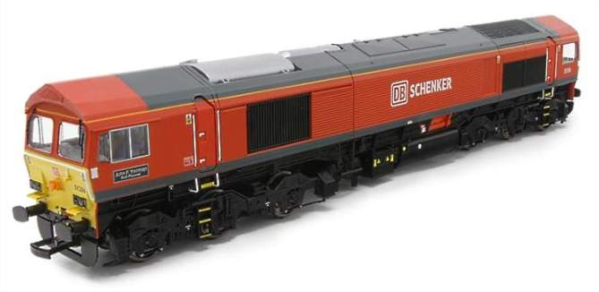 Some of the paint samples from Dapol's new 59 Class release
