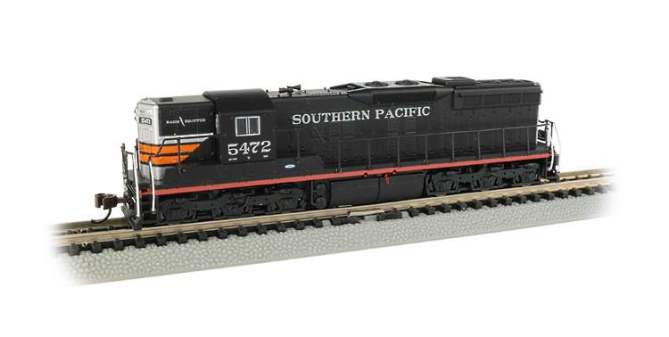 Southern Pacific SD9 in N Scale