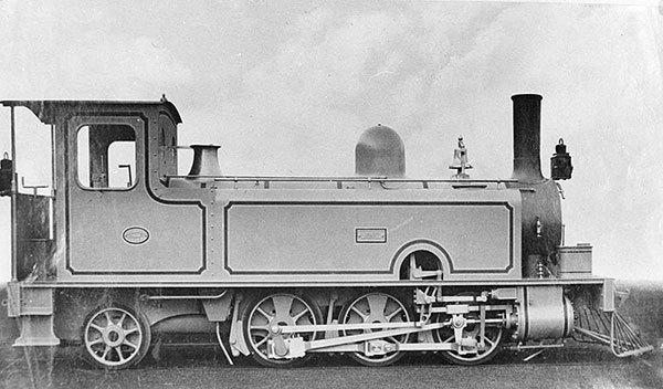 6D13 Class Steam Engine - the steam engine that introduced Walschaerts valve gear to the Queensland Railways