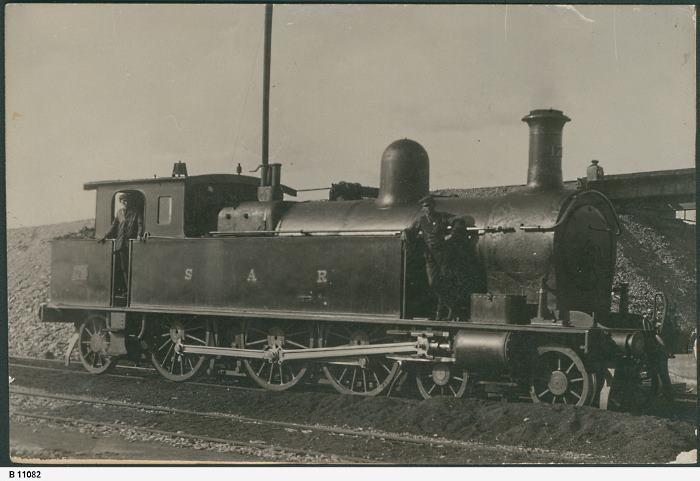An F Class loco in service around 1909