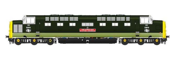 Accurascale will release a OO Scale Deltic shortly