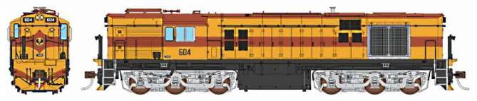 Auscision's HO model of the South Australian Railways 600 Class
