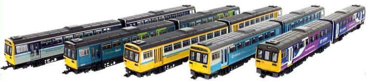N Scale Class 142 railcars in 5 different liveries coming soon from Dapol