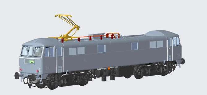 A Class 86 in 7 different livery variations in OO Scale is coming from Heljan in 2019