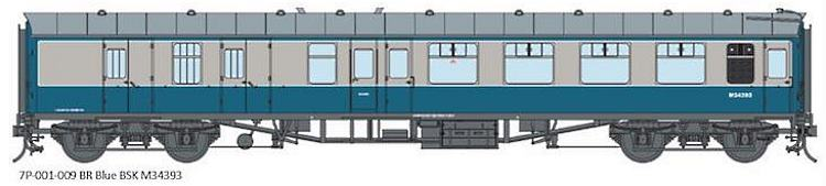 Artwork for the Lionheart O Scale Mk1 BR blue coaches