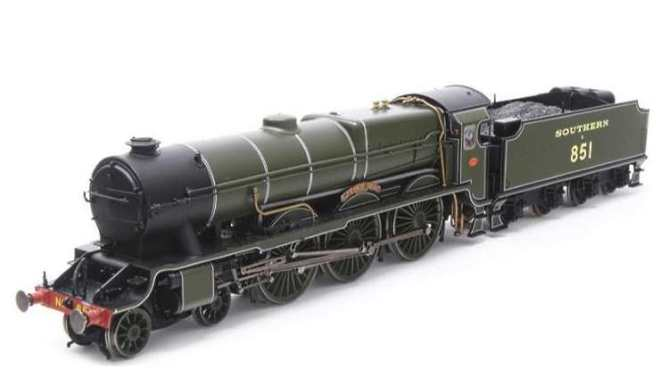 Hornby's new re-tooled Lord Nelson Class steam engines