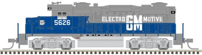 New N Scale GP20 from Atlas - it's coming in a range of roadnames
