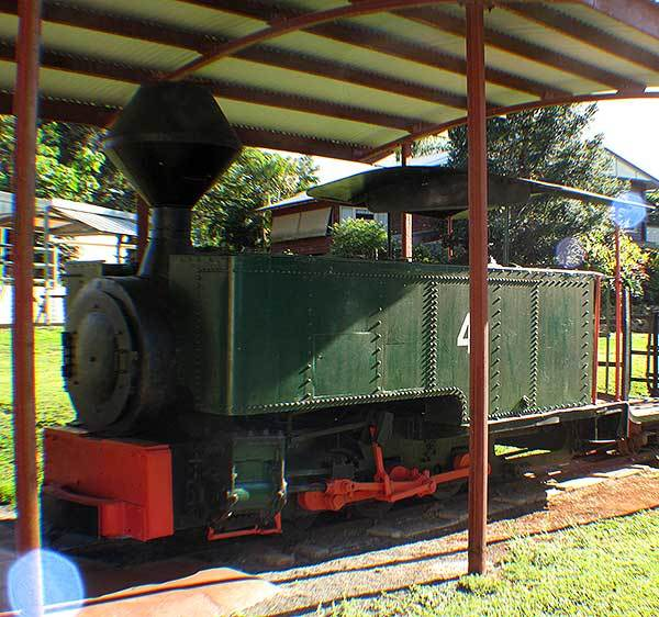 Childers No 3 (or Isis Central Mill No 4) preserved under cover at the local museum in Childers Qld