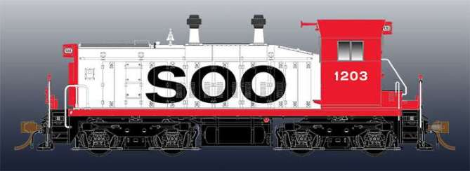 The next HO Scale loco from Rapido will be the SW1200