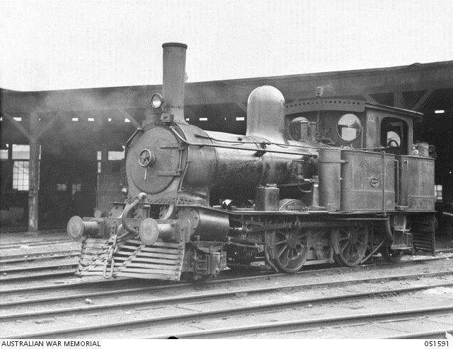 D2 photographed at Hobart Loco in 1943