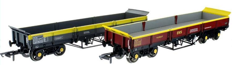 OO Scale YCV Turbot Bogie Ballast Wagons from Dapol
