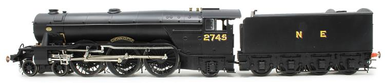 The black paint sample of Heljan's O Scale A3