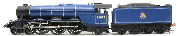 The blue paint sample of Heljan's O Scale BR A3