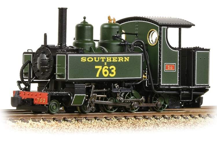 The new Southern Railway's Maunsell green livery for the Bachmann OO9 steam loco that will be released later this year