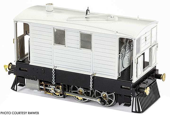 A pilot model of the J70 tramway loco to be produced by Model Rail Magazine and Rapido Trains - this model is not wearing the side skirts that many of the class carried throughout their lives.