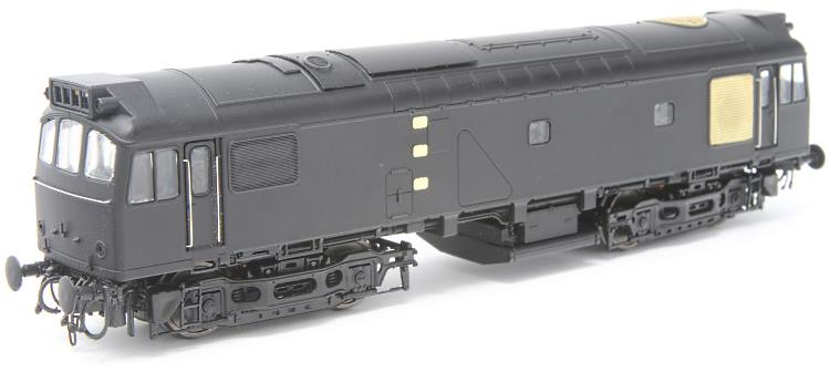 The pilot model for the new Heljan OO scale 25/3 diesel available from Hattons